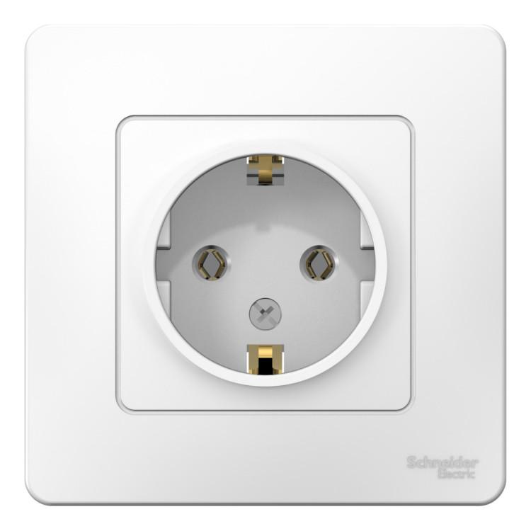 BLNRS001011 – Розетка Schneider Electric BLANCA, скрытый монтаж, с ... ccc0d61a5fd