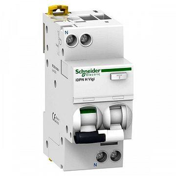 A9D38616 – Дифавтомат Schneider Electric Acti9 2P 16А ( C ) 10 кА, 30 мА ( AC ): купить по цене производителя в интернет-магазине TESLI