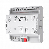 ZCL-ZB6 ZoningBOX 6. Zoning ducted air-conditioning actuator for up to 6 zones