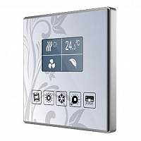 ZVI-SQTMDD Capacitive touch panel 5 buttons & graphical display with thermostat.